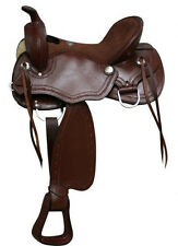 Beautiful Double T Draft Horse Style Saddle! *Full Draft Bars* Hard to Find!