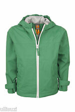 Elkline Wasserwerk Kids Rain Jacket Waterproof Super Lightweight Frog Green New