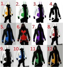 Assassins Creed Conner Kenway 12 Colours Hoodie/Coat/Jacket Cosplay Costume BNWT
