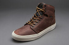 new mens vaNs otw alomar premium leather vn-0KX08HY boot brown off the wall