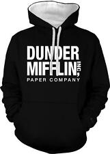 Dunder Mifflin Paper Co Inc Scranton PA The Office Dwight 2-tone Hoodie Pullover