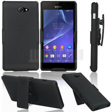 RUGGED TOUGH SWIVEL HOLSTER BELT CLIP CASE HARD COVER FOR MOBILE PHONES TABLETS