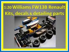 1:20 Williams FW13B kits, detailing parts, figures and decals. ~ Tamiya ~
