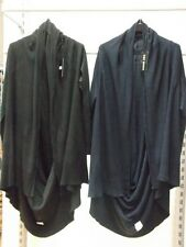 New Italian knitted black navy  cocoon cardigan  one size fits all  8 -18 £14.99