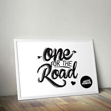Arctic Monkeys - One For The Road - AM Alex Turner - Poster Print - Wall Art