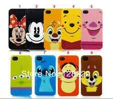 Funda Rígida Cartoon Cara 3d Lindo Gel Personaje De Disney Funda Para Iphone 4 4s 5 5s