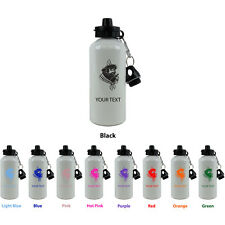Personalized Custom Pirate Aluminum White 20 Oz Sport Water Bottle Gift