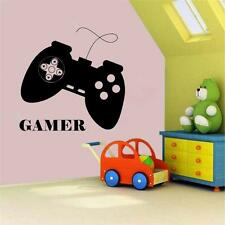 Gamer Vinyl Decal Wall Sticker Playstation 4 Controller Boys Room Ps4 Game Huge