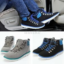 Winter Men High Top Lace Up Artifical Fur Casual Sneaker Shoes Ankle Snow Boots