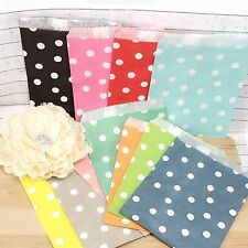 50 Polka Dots Paper Lolly Candy Buffet Bags Wedding Party Birthday Favour Gift