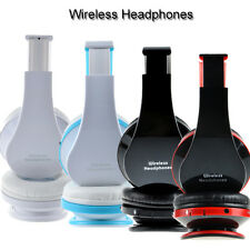 New Foldable Wireless Bluetooth Stereo Headphones Mic For iPhone HTC Samsung LG