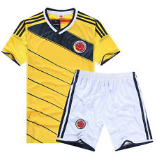 2014 World Cup Colombia national team Home Football Soccer Jersey Shirt S,M,L,XL