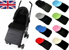 UNIVERSAL FOOTMUFF COSY TOES BUGGY PUSHCHAIR STROLLER PRAM