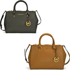 Michael Kors Sutton Saffiano Leather Medium Satchel Handbag - Several Styles