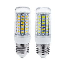 E27 15W 69 LEDS 5730 Chip SMD Corn Light Bulb Lamp With Cover Warm/Pure Cheap