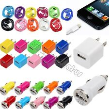 3 in 1 Car Charger+Micro USB Cable for iPhone 4 4S 5 5S Phone