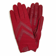 New totes ISOTONER Womens Unlined Leather Palm Driving Gloves