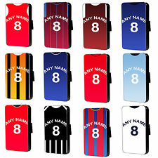 Personalised League Football Shirt iPhone 6 5 4 c s Phone Flip case - Premier
