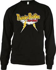 Thunder Buddies For Life Funny Friends Besties Movie BFF's Long Sleeve Thermal
