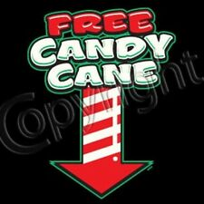 Free Candy Cane - Funny Adult Christmas Dirty Joke Gag Gift (Men & Womens Shirt)