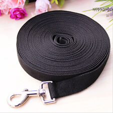 Dog Leash Long Obedience Recall Foot Feet Training Lead 6ft 15ft 20ft 30ft 50 ft