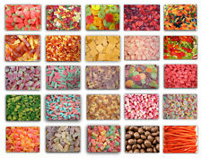 Pick N Mix Sweets Halal - Retro Fizzy Jelly Sour Traditional Flavour Candy