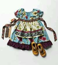 NWT Matilda Jane Paint by Numbers Homegrown Peasant Dress 4 or 6 Ship Free