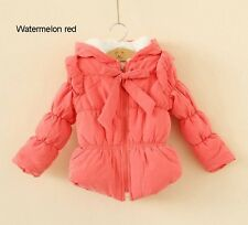 New Kids Childrens Winter Clothing Girls Coats Wadded Jackets Outerwear Ages3-6Y