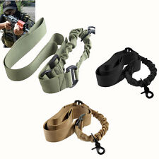 Outdoor One 1 Single Point Sling Adjustable Bungee Rifle Gun Sling Strap System