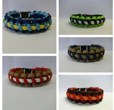 Paracord Bracelet In NFL Team Colours National Football League S-T Handmade