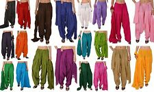 20 Colors Indian Ethnic Wear Cotton Patiala Salwar Pants Dupatta Set for Women