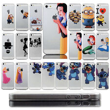 New Cute Cartoon PC hard clear back Case Cover Skin For iPhone 4S 5 5S 6 6 plus
