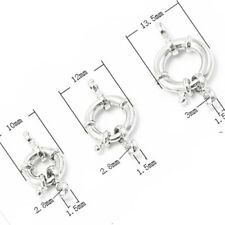 Spring Ring Clasp - DIY S925 Sterling Silver Jewelry Findings Repair Making
