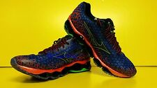 Mizuno Wave Prophecy 3 Running Shoes (M) Blue/Red J1GC140018 NEW 2014