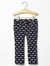 Gap Kate Spade New York NWT Bow Print Skinny Jeans Pants 2 3 4 2T 3T 4T NEW