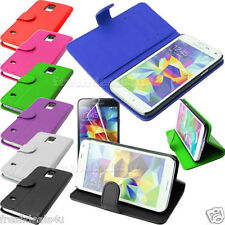 PU LEATHER MAGNETIC FLIP WALLET STAND CASE COVER FOR MOBILE PHONES WITH SCREEN