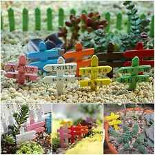 1Pc Gardening Supplies Wooden Signpost Labeling Garden Yard Accessory Ornaments