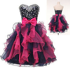 FREE POST❤ Graduation Evening dress Prom Ball Gown Party Cocktail Short Dresses