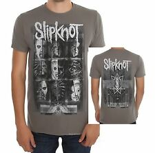 Slipknot Masks Logo nu heavy metal rock slim fit T-Shirt M XL 2XL 3XL NWT