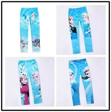 Free Shipping  Girls Hot Sale Skinny Pencil Leggings Trousers Kids Pants 4-10Y