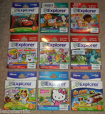 Leapfrog Leappad 2 3 Power Ultra XDi Explorer games NEW My Little Pony Cars etc