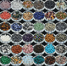 Wholesale Lot Natural Gemstone Round Spacer Loose Beads 4,6,8,10mm