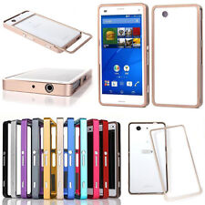 Luxury Aluminum Metal Bumper Frame Cover Case For Sony Xperia Z3 Compact/Z2 New