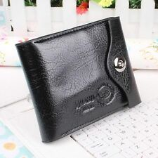 Money Coin Pocket Men Purse Credit ID Card Bifold Wallet Leather Card Holder EL
