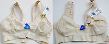 New Hanes G265 Fuller Coverage 2 Ply Wire Free Bra Sz S-XL Pck 1 Wht/beige