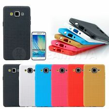 Soft TPU Gel Silicone Pattern Matte Case Cover Skin For Samsung Galaxy A3 A5 A7