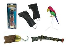 ADULT FANCY DRESS PIRATE PARTY COSTUME ACCESSORIES ALL KINDS