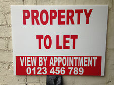 To Let / For Sale Estate Agent Boards / Personalised / Shop Sale