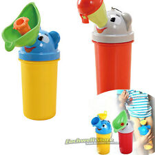 Cartoon Portable Potty Travel Camping Urinals Car Toilet Training for Baby Kids