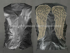 daryl dixo wings vest jacket Motorcycle vest  The walking dead Angel wings vest
